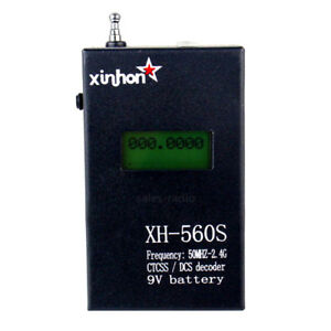 XH-560S-CTCSS-DCS-Decoder-Frequency-Counter-Meter-For-BaoFeng-UV-5R-WalkieTalkie
