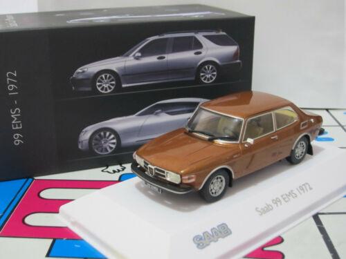 Saab 99 EMS 2.0L 2-door Coupe 1972 1//43 Editions Atlas