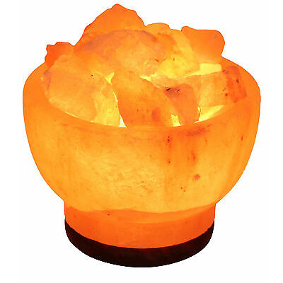 New Himalayan-salt Ionizing Lamp USB Led Light rock salt Lamp glowing attractive