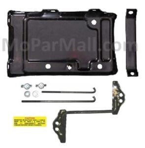 67-74 Mopar A-Body Engine Compartment Steel Battery Tray AMD Tooling!!!!