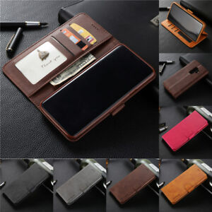 For-Samsung-Galaxy-S9-S8-A9-A8-A7-2018-Magnetic-Flip-Leather-Wallet-Case-Cover