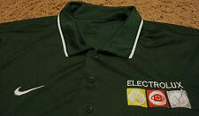 Mens ~ Electrolux ~ Vacuum Parts Appliances ~ Green Polo Shirt ~ By NIKE ~ XL