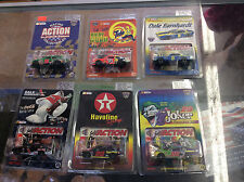 Action Nascar 1:64 Scale Stock Car Lot Of 6! See Pics! Shelf Wear!
