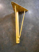 Hafele Adjustable Steel Table Legs (top Section Only) (yellow) (qty-4) (156-e2).