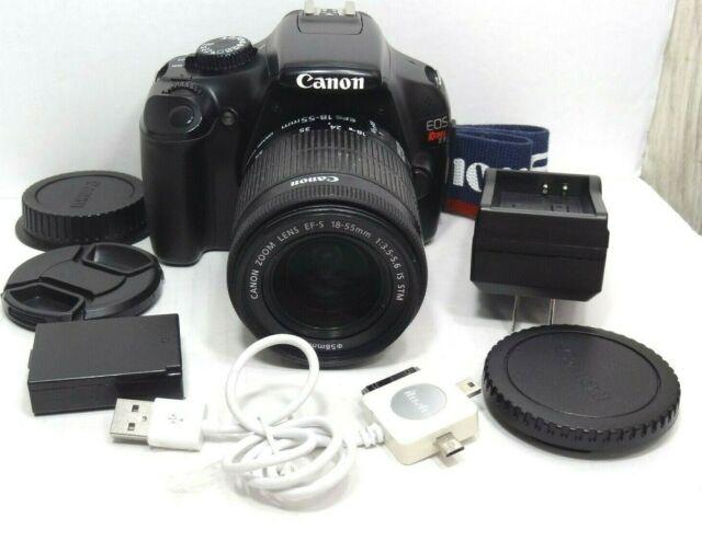 Canon EOS Rebel T3 Digital SLR Camera - Black , with EF-S 18-55mm 3.5-5.6 Lens