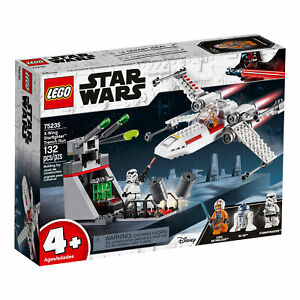 75235-lego-star-wars-x-wing-Starfighter-Trench-Run-132-PIECES-4-ans-Neuf-2019
