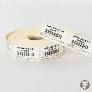 Metrel tek150 code-barres Pat-étiquettes d'inventaire de tous les Testeur PAT scanners code barre