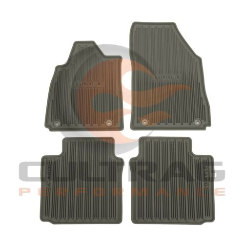 2014-2019 Impala GM Front /& Rear All Weather Floor Mats Dark Titanium 23238785