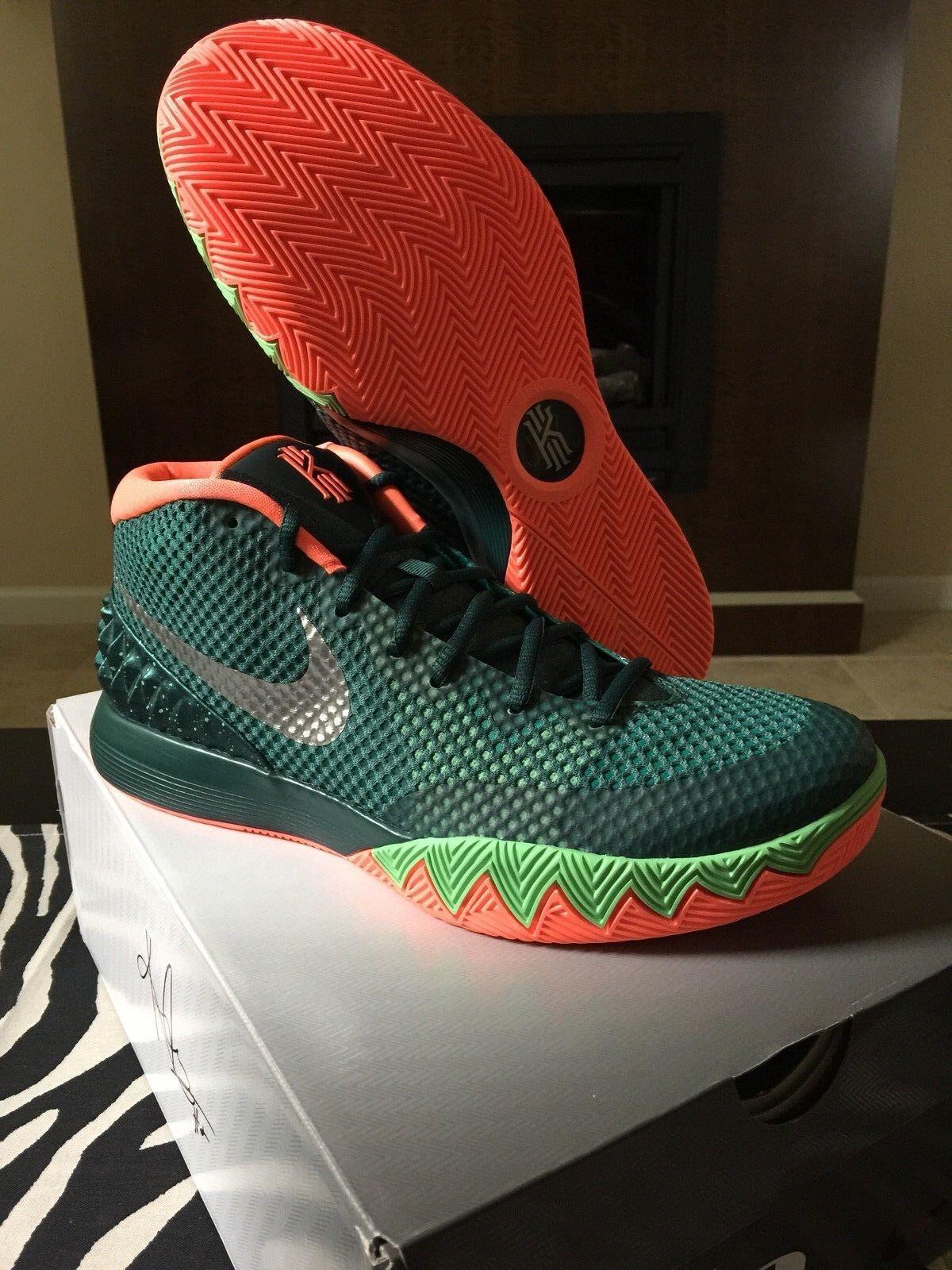 Nike Air Kyries all red 9.5 Green 10 10.5 Green 9.5 Mango black Lebron Kyrie 11.5 13 1 b09e3e