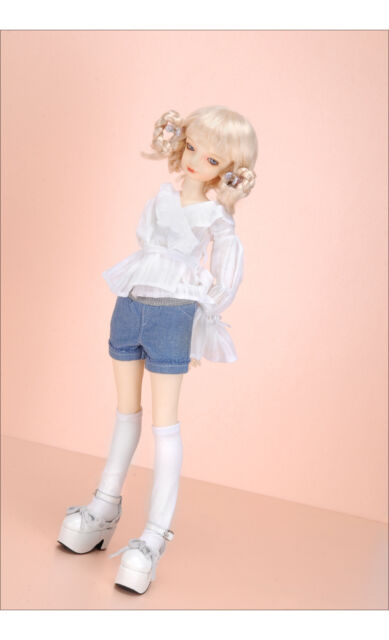 """Smart SS Pants White Dollmore 17/"""" 1//4 BJD doll clothes outfits  SIZE MSD"""
