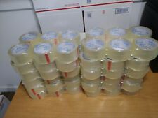 72 Rolls 2x61 Yrds 56m Shipping Packaging Packing Tape 2mil Great Quality