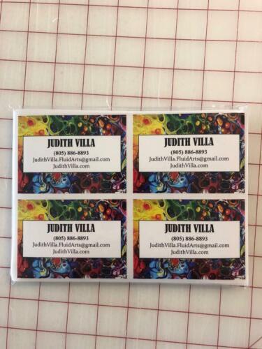 100 EtiquetasPersonalizado Pegatina de vinilo en las etiquetas de impresión a granel adhesivos con el logotipo de etiqueta