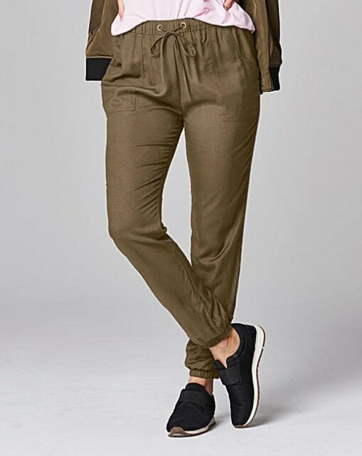 Simply Be Woven Harem Trousers Uk 10 LS170 NN 13