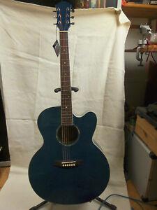 Weller-LJ-19-Western-Gitarre-Jumbo-Eschen-Decke-amp-Boden-amp-B-Bend-Piezo-PU-System