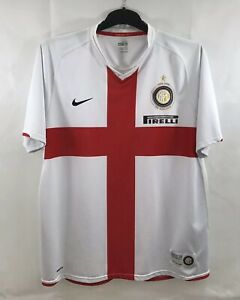 size 40 bc997 bac87 Details about Inter Milan Centenary Away Football Shirt 2007/08 Adults XL  Nike