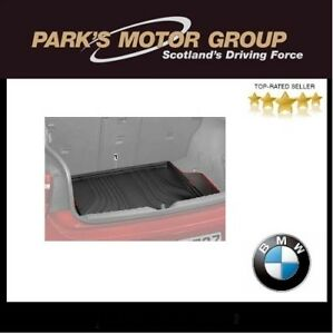 Genuine BMW F20 F21 1 Series Fitted Luggage compartment Boot Mat 51472219975