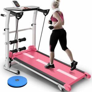 Mini-Treadmill-Folding-Mute-Fitness-Equipment-Wide-Run-Belt-Mechanic-Treadmill