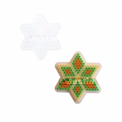 Hama Perla Peg Board assortiti Forme /& Figure Ragazzi e Ragazze Craft Stocking Filler