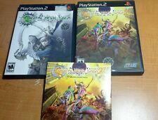 Shin Megami Tensei: Digital Devil Saga 1 & 2 + Soundtrack (Complete, PS2)