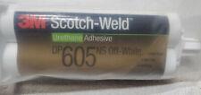 New 3m Scotch Weld General Purpose Adhesive Urethane Dp605ns Off White 50ml
