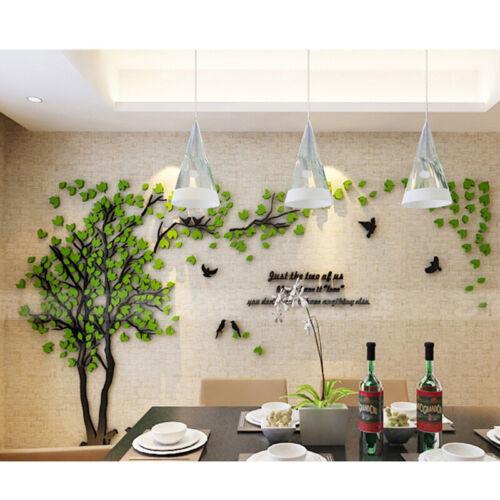 3D Flower Tree Home Room Art Decor DIY Wall Sticker Removable Decal Vinyl MP/_US