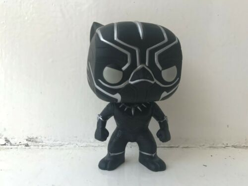 FUNKO POP VINYL #130 BLACK PANTHER MARVEL SERIES FIGURE AVENGERS CIVIL WAR