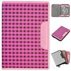 CaseCrown Oxford Zip Case (Pink/Brown) for Amazon Kindle Touch (3G) eReader