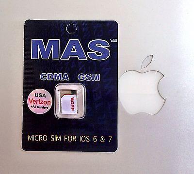 Any IPhone 4S GPP Gevey MAS SIM iOS 7.1 and earlier
