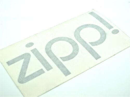 Genuine New HYUNDAI ZIPP DECAL Black Sticker Emblem Matrix Atos Lantra Matrix