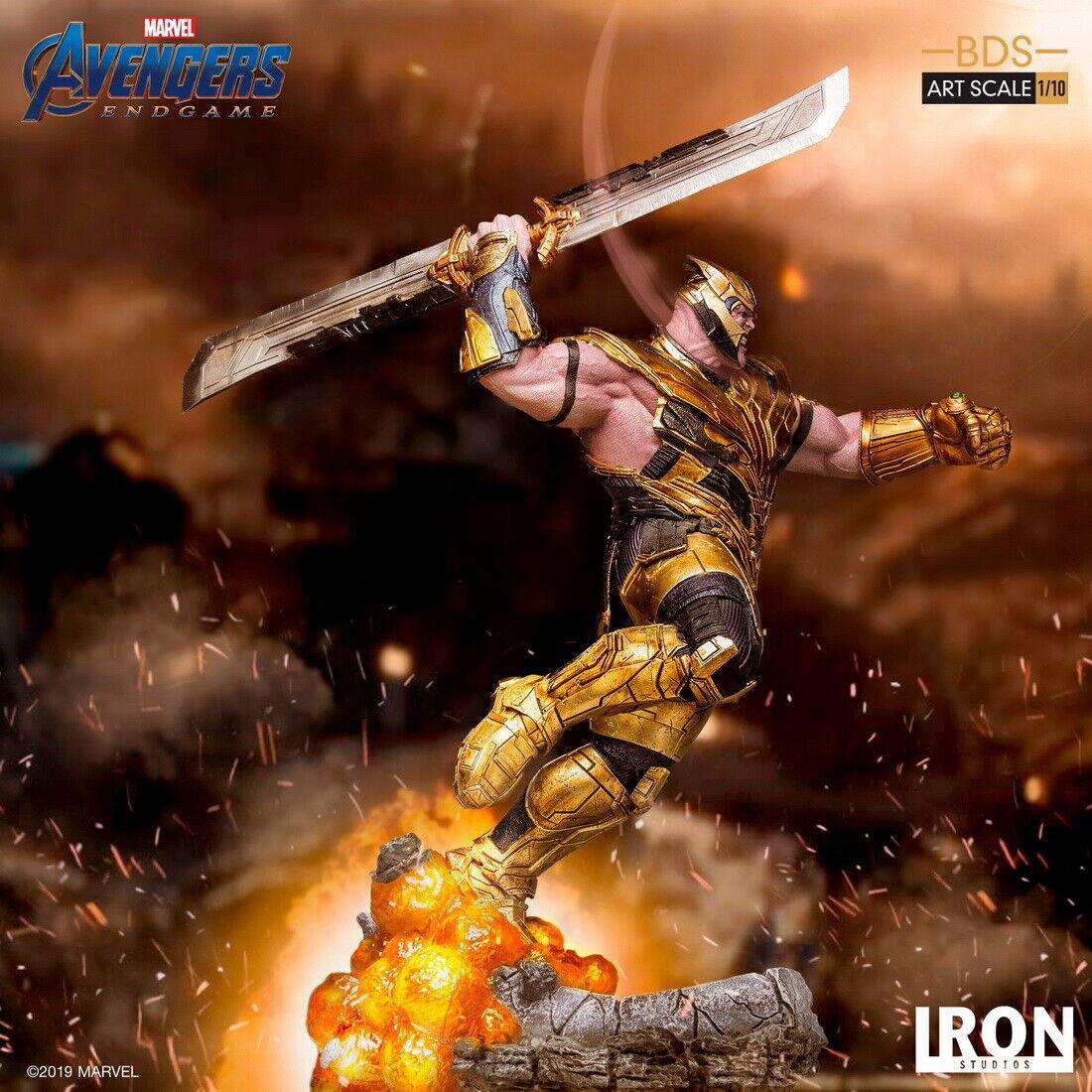 Iron Studios 1 10 Avengers Endgame Thanos Thanos Thanos Figure Statue Art Scale Standard Ver. c45606