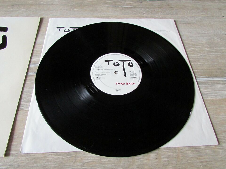 LP, TOTO, TURN BACK