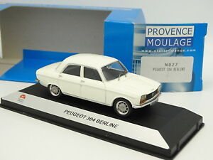 Starter-N7-Provence-Resine-1-43-Peugeot-304-Berline-Blanche