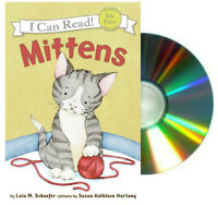 I Can Read Mittens By Lola M. Schaefer Book & Cd My First Shared Reading