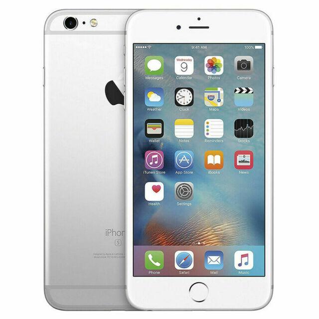 Apple iPhone 6s   Grade B-, Shadow   Unlocked   Silver   64 GB   4.7 in