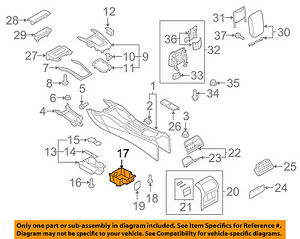 AUDI-OEM-08-17-A5-Quattro-Console-Storage-Tray-8K0864981F4PK
