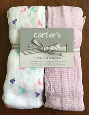 Carter's 2 Swaddle Blankets