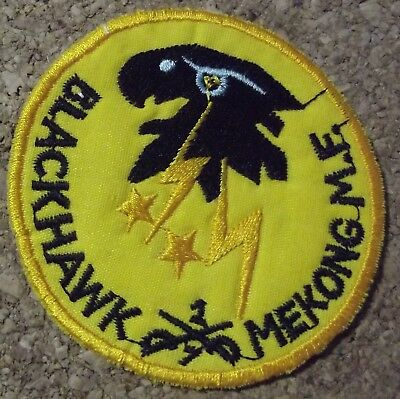 New Fashion Patch/patch Us Vietnam 1st Air Cavalry Blackhawk Mekong Me 7th Squadron