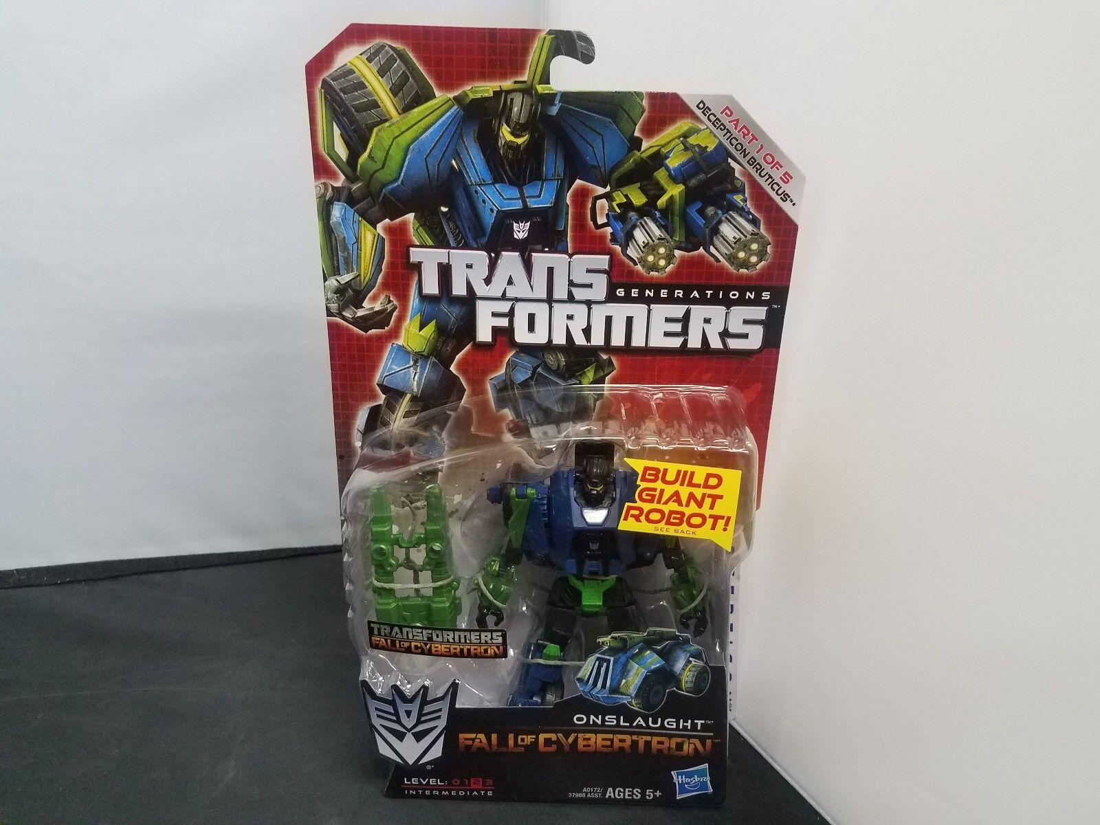 Hasbro Transformers Generations - Ftutti of Cybertron -  Deluxe, Onslaught... NOSC  è scontato