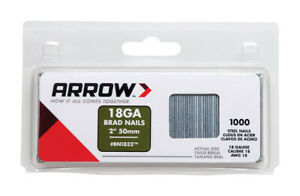 Arrow-Fastener-2-in-18-Ga-Straight-Strip-Brad-Nails-Smooth-Shank-1-000-pk