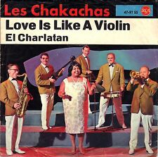 "7"" Les Chakachas – Love Like A Violin / PSYCH FUNK SOUL GROOVE // Germany 1960"