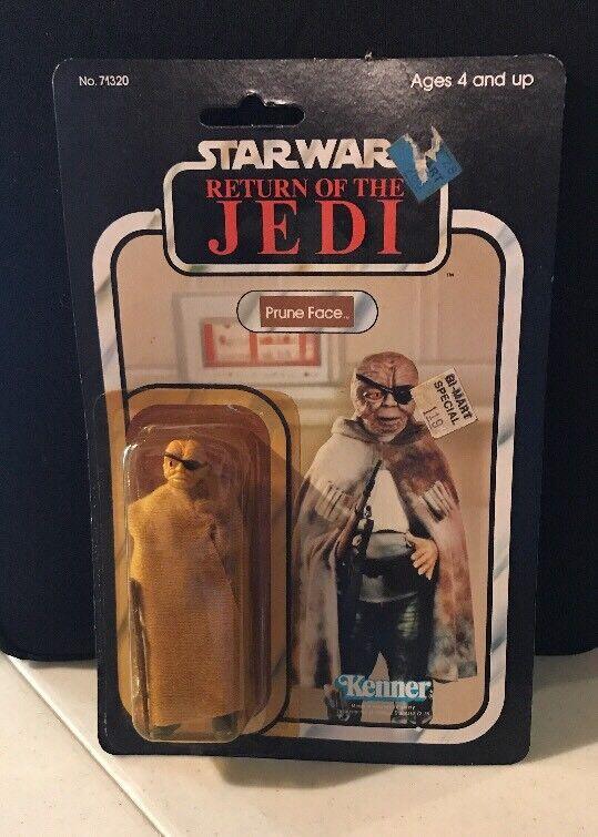 1983 Star Wars Return of the Jedi Prune Face Kenner Action Figure redJ NEW