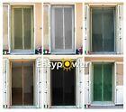 Zanzariera magnetica universale verde per porte e finestre con magneti.