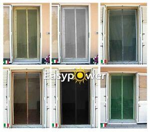 Zanzariera magnetica universale verde per porte e finestre - Zanzariera magnetica finestra ...