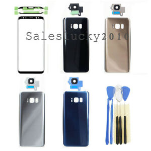 for-Samsung-Galaxy-S8-S8-Plus-Front-Glass-Lens-Screen-Battery-Cover-Parts-OEM