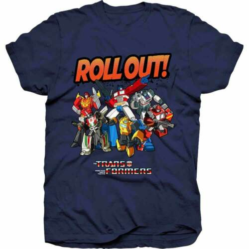 Transformers Roll Out Hasbro Men/'s Tee