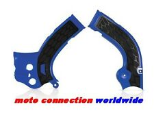 ACERBIS X-GRIP FRAME GUARDS BLUE for YAMAHA YZF250 YZF450 2014 2015 2016 2017