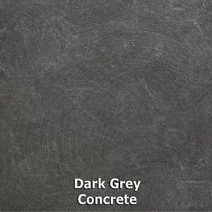 Image Is Loading Dark Grey Concrete Style Vinyl Flooring 2m