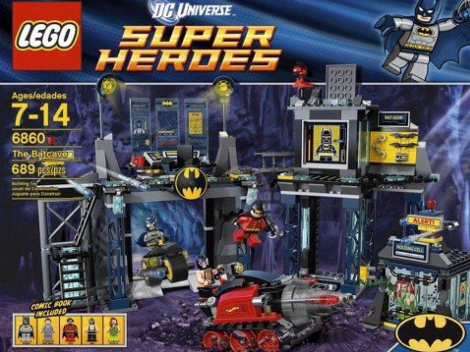 Neuf Scellé LEGO 6860 Super Heroes BatFemme une Batcave Poison Bruce Ivy Bane Bruce Poison Wayne 3677d9