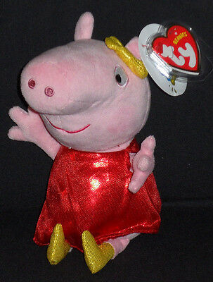 TY UNION JACK PEPPA the PIG MINT with MINT TAGS UK EXCLUSIVE