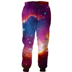 e8026f3177e8 Pink Stars Galaxy Space 3d Graphic Women Men Harem Pant Jogger Sport ...
